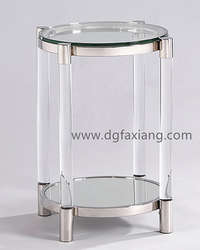 fashion acrylic side table end table coffee table
