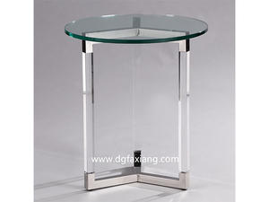 cheap crystal acrylic lamp table for sale