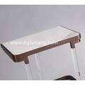 nice lamp table with stainless and  marble