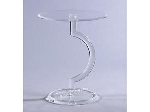 transparent acrylic lamp table modern square facy acrylic lamp table