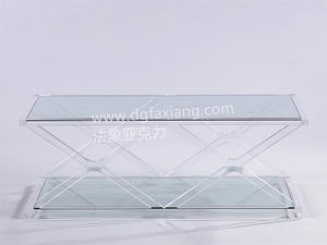 large lucite coffee table clear acrylic coffee table crystal acrylic coffee table