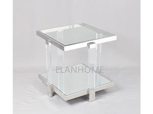 Modern Crystal Acrylic Lamp Table Supplier