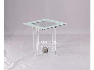 custom acrylic lamp table clear acrylic side table