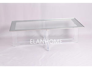 home furniture lucite coffee table