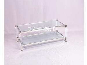 Best Seller Clear Plexiglass Coffee Table