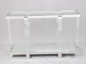 Cheap Lucite Console Table