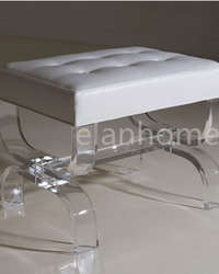 lucite bench cheap