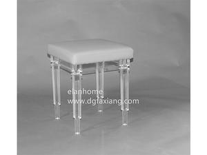 modern acrylic stool clear fashion lucite stool manufacture