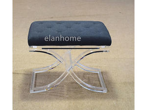 acrylic bench cheap clear lucite bench manufacture from china