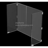 hot sale clear lucite desktop divider screens