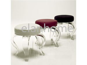 crystal acrylic bar stool simple vanity acrylic stool