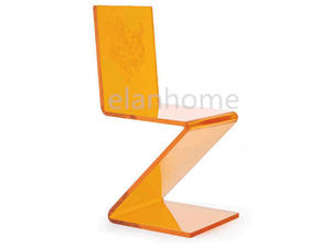 Z Shape Lucite Chair