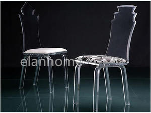 Modern Crystal Acrylic Dining Chair