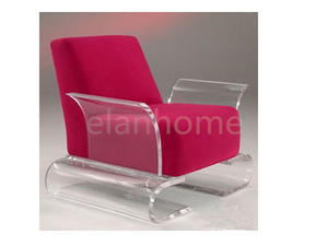 fashion sofa with clear acrylic leg acrylic sofa chair supplier from china factory