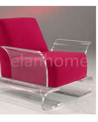 acrylic sofa chair