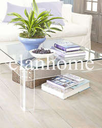 ACT055 crystal square table