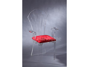crystal acrylic queen chair suppliers from china factory