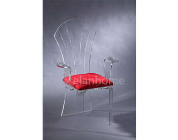 transparent acrylic queen chairs
