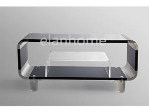 Luxury Modern New Design Lucite Tv Stand Furniture Living Room