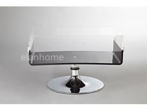 acrylic TV stand base metal from china factory