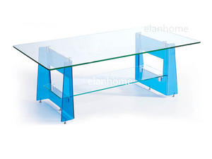 High Quality Acrylic Long Coffee Table