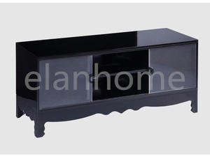 Black Acrylic Hot Sale Modern Living Room TV Cabinet