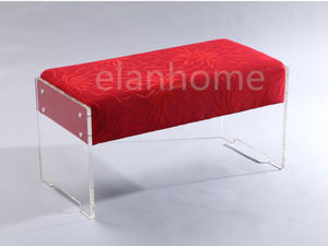 2 Sets Acrylic Bench