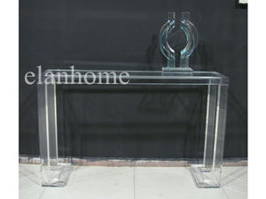 Crystal  Acrylic Console Table--ACT041