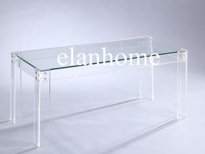 Best Price Clear Lucite Sofa Table On Sale