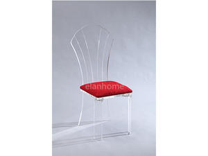 Clear Acrylic Queen Chair