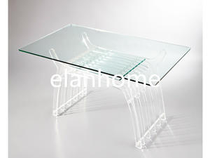 Clear Dining Table With Acrylic Legs