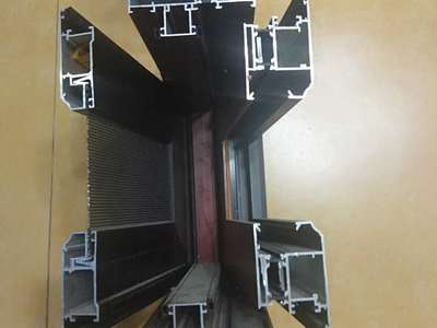 heat insulation system winsow with sash