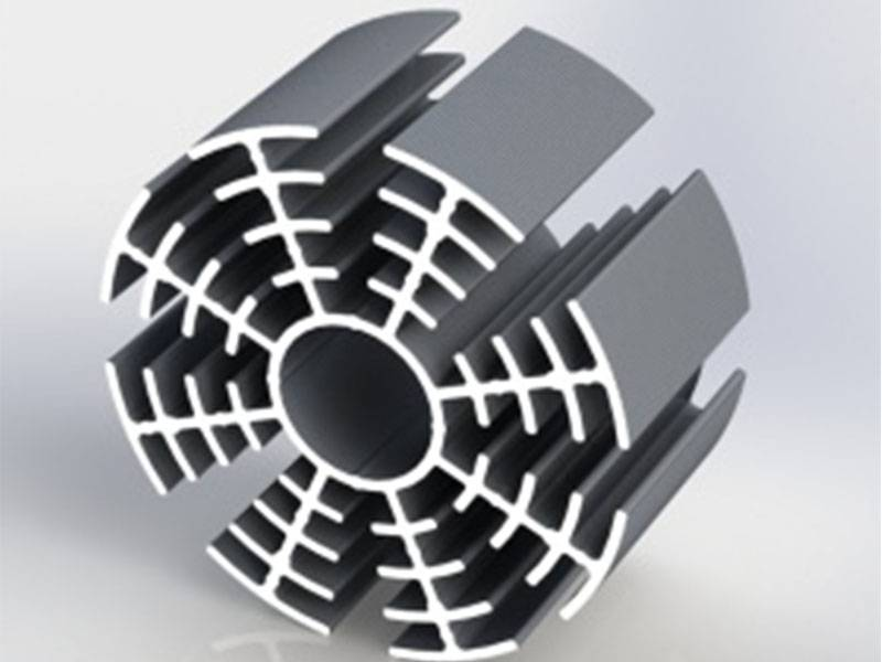What issues need attention in the processing of industrial aluminum profiles?