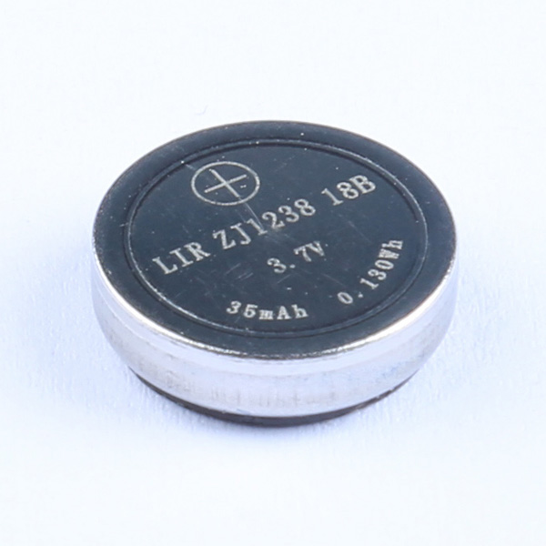 What are the characteristics of a good rechargeable coin battery?