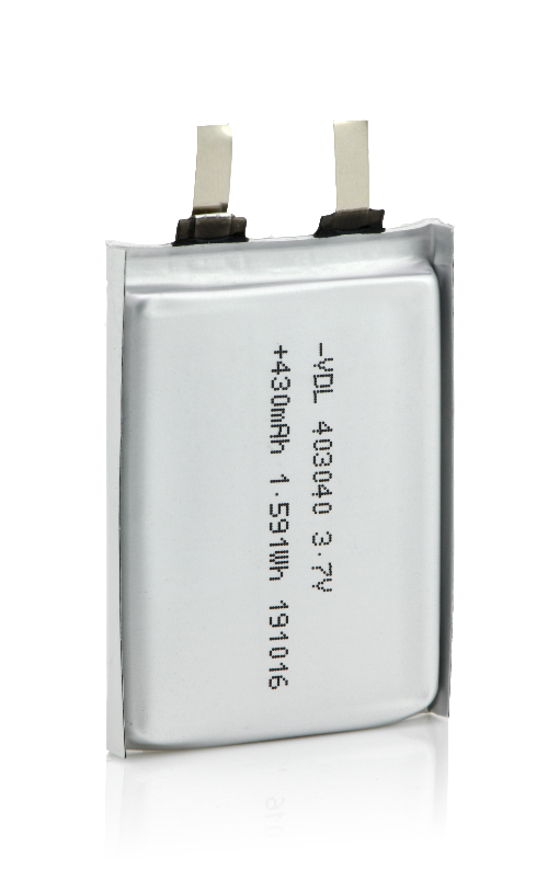 403040 Square Pouch Battery