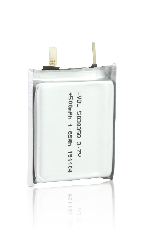 503035Q Square Pouch Battery