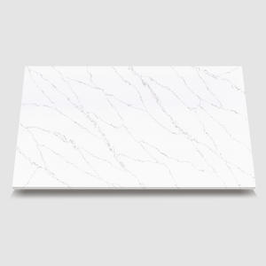 natural quartz stone-WG437 Pulse White