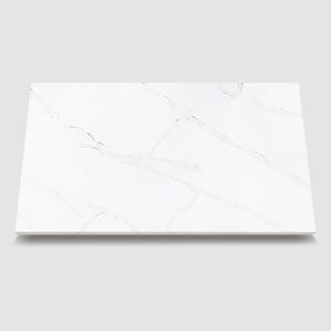 white quartz bathroom countertops-WG411 Venation