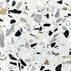 High Quality Diamond Ice Terrazzo Tiles Supplier-WT240