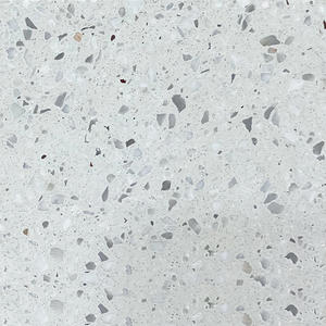 High Quality Twists White Terrazzo Tiles Producer-WT116