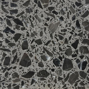 High Quality Dark Grey Terrazzo Tile Producer-WT233
