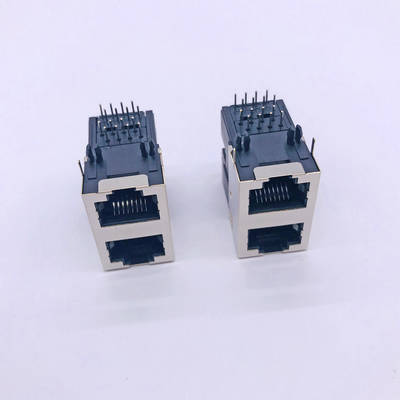 RJ45 59B 2x1 Short Shell Connector