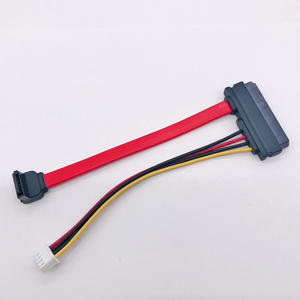 SATA 7+15P 22pin to SATA 7P 90°/SH2.0 4P CABLE supply SATA HDD hard drive high speed computer data power cable OEM ODM