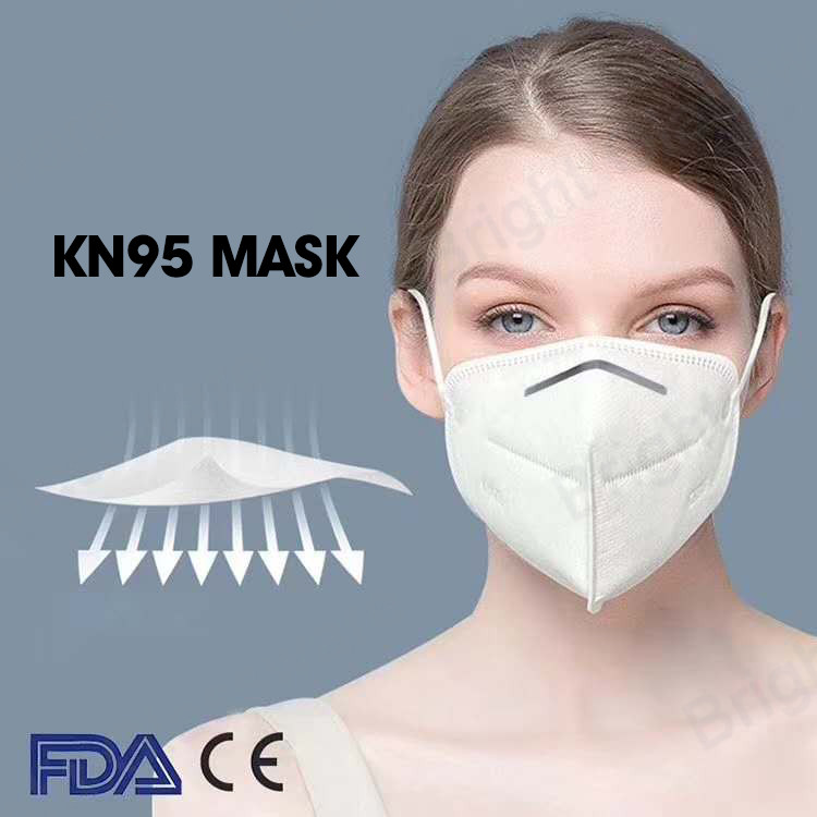 Ce FDA antipolución desechable Earloop Kn95 mascarilla