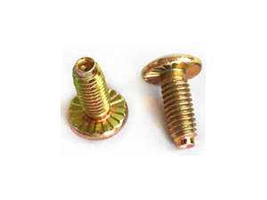 Solid steel screw