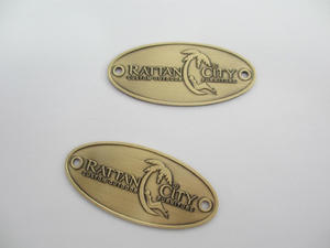 custom antique name plate for furniture in China