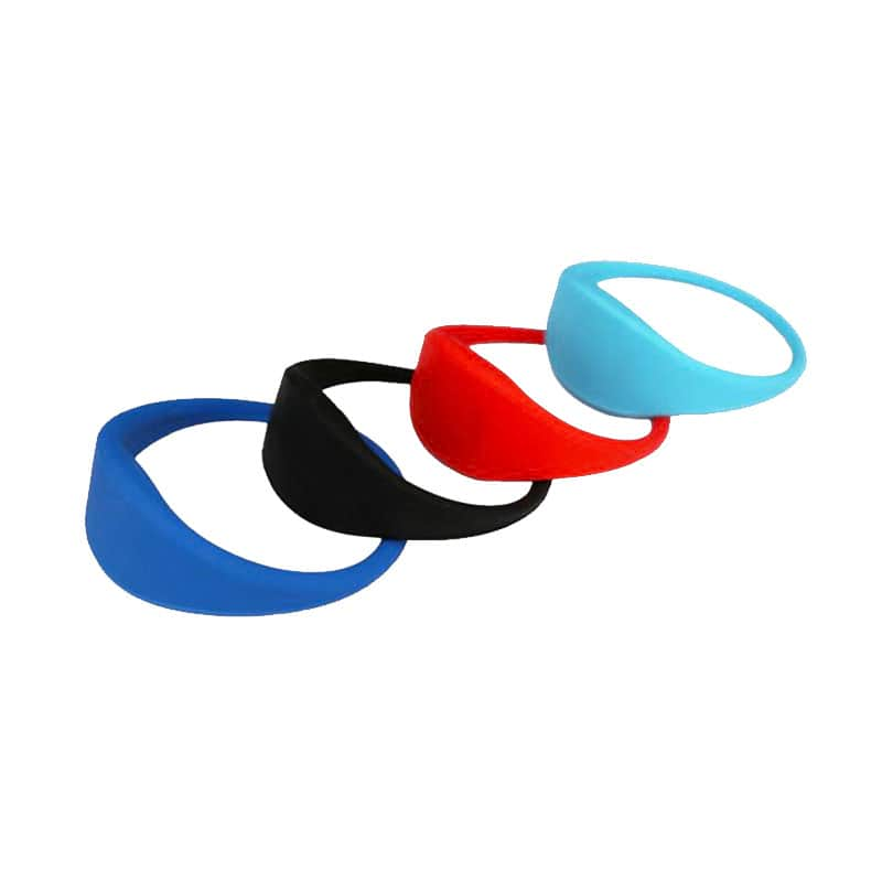 ACCESS CONTROL ICODE SLI-X SILICONE RFID BRACELET/WRISTBAND ISO 15693 From Xinyetong