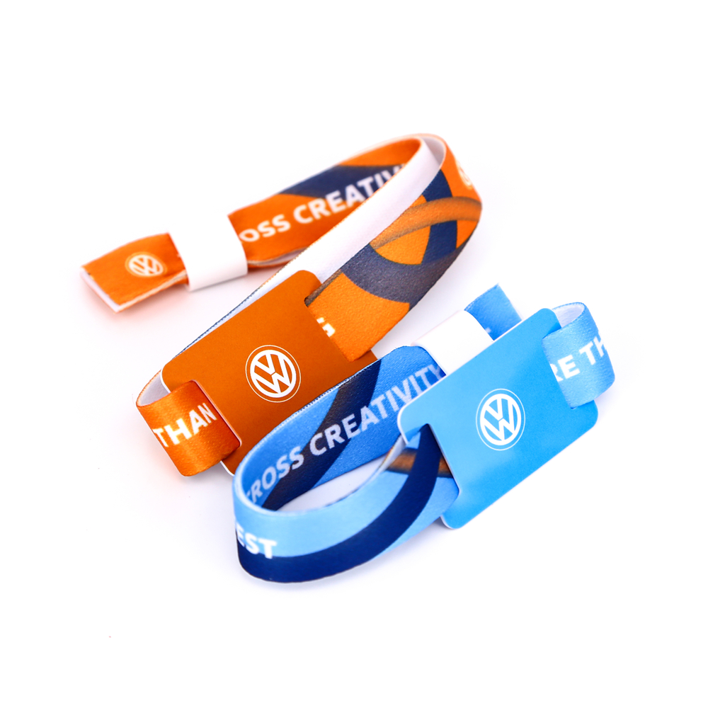 RFID Fabric Wristband For Events丨Reliable Supplier-XINYETONG