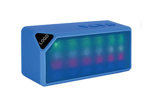 Super Subwoofer Bluetooth Speaker with Dancing LED Light  Portable Wireless Handsfree Speakers TF/FM Radio Built in Mic