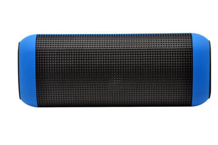 Cylinder Bluetooth Speaker With LED Light